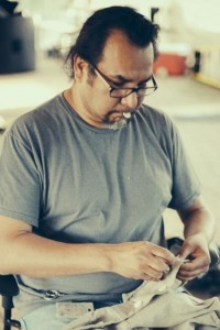 Jeff Chief, costume designer and creater. Photo by Juan Camilo Palacio.