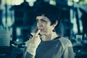 Tara Beagan enraptured by the cast. Photo by Juan Camilo Palacio.