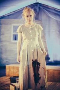 "Lindsey Clark as ""Lizzie-Mae."" Photo by Juan Camilo Palacio"