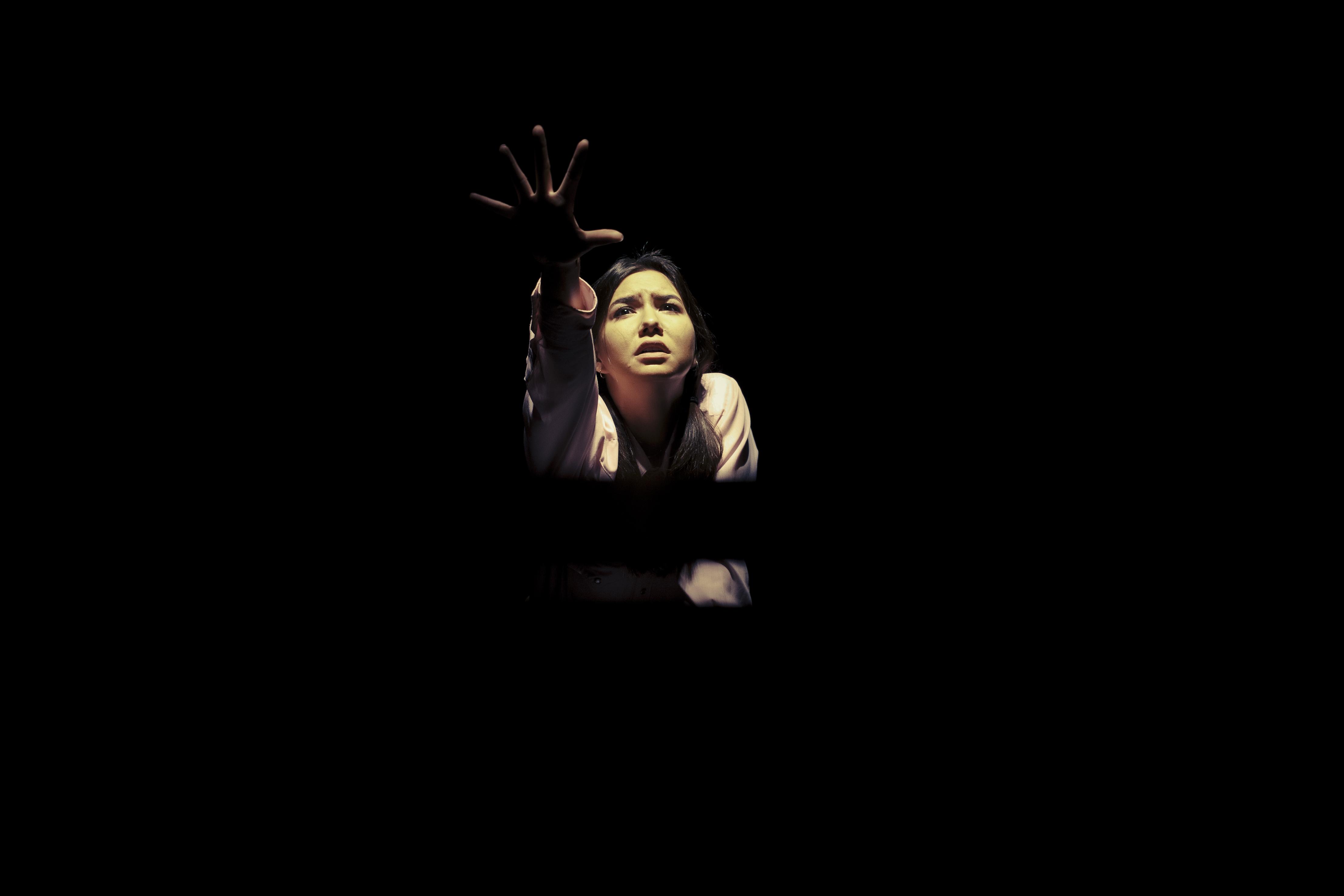 Sera-Lys McArthur by Juan Camilo Palacio from the NEPA 2013 production. design Moro, direction/writing Beagan.